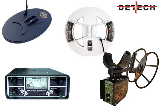 Detech metal detectors and coils