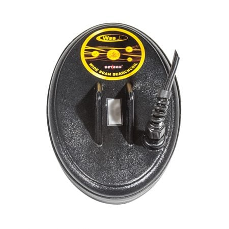 "Detech SEF 4.5x7"" WSS coil for VLF metal detectors"