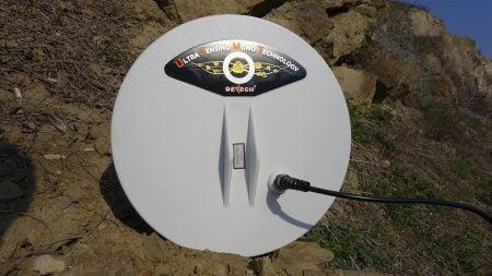 Piastra Detech 11″ Ultra Sensing Mono per Minelab GPX, GP, SD e White's TDI/TDI Pro/TDI SL