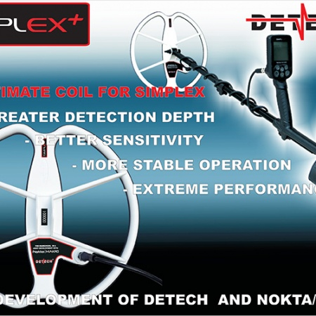 Detech Ultimate 13″ coil for Nokta Makro Simplex