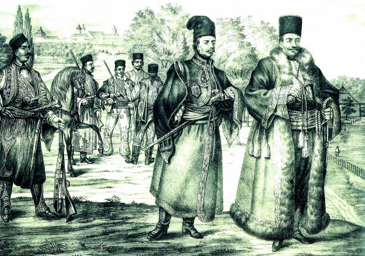 Deschidere Tudor Vladimirescu si pandurii sai la Bucuresti