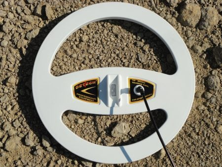 Detech 18″ Mono Boomerang coil for Minelab GPX, SD and GP series
