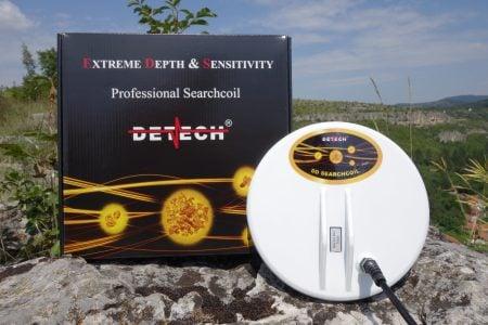 "Detech 8"" Mono closed design coil for Minelab GPX metal detectors"