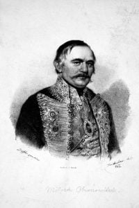 Milos Obrenovic Litho