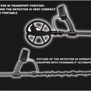 Metal detector VLF Detech Chaser 14 kHz