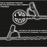 Detector de metale VLF Detech Chaser