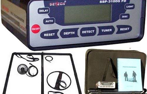 Detech SSP 3100 Pulse Induction metal detector